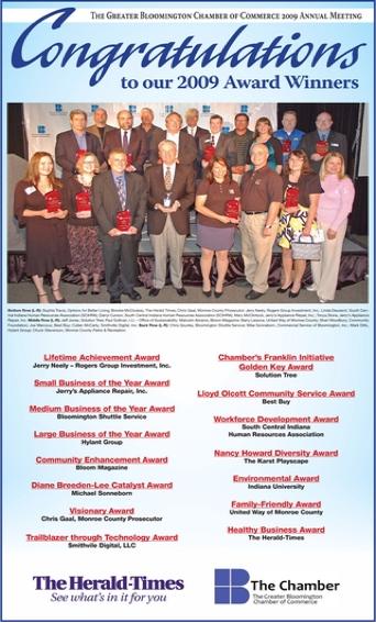 Chamber of Commerce Visionary Leader Award
