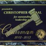 IPAC Leadership as Chairman Award