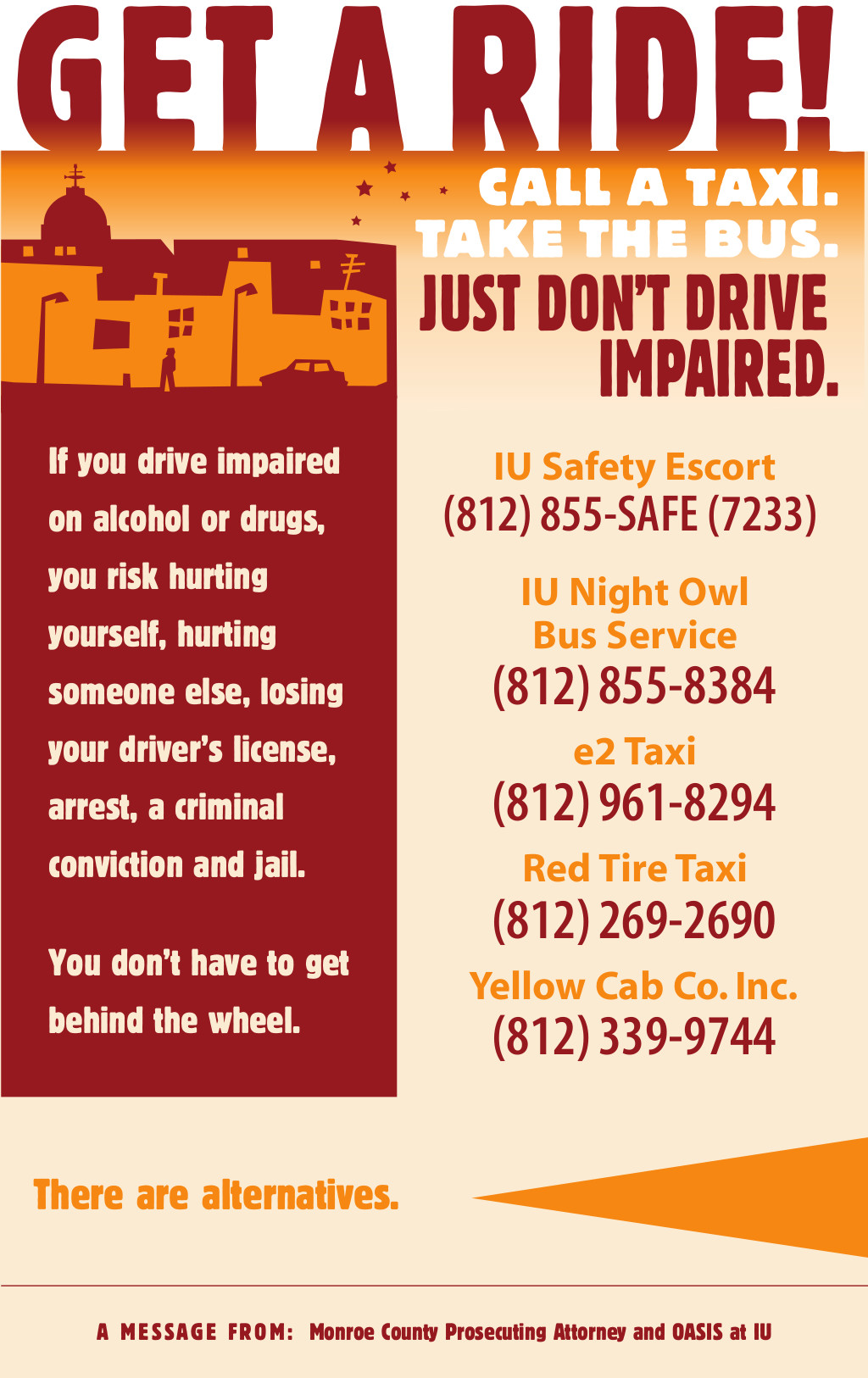 Impaired Driving Includes Alcohol & Drugs